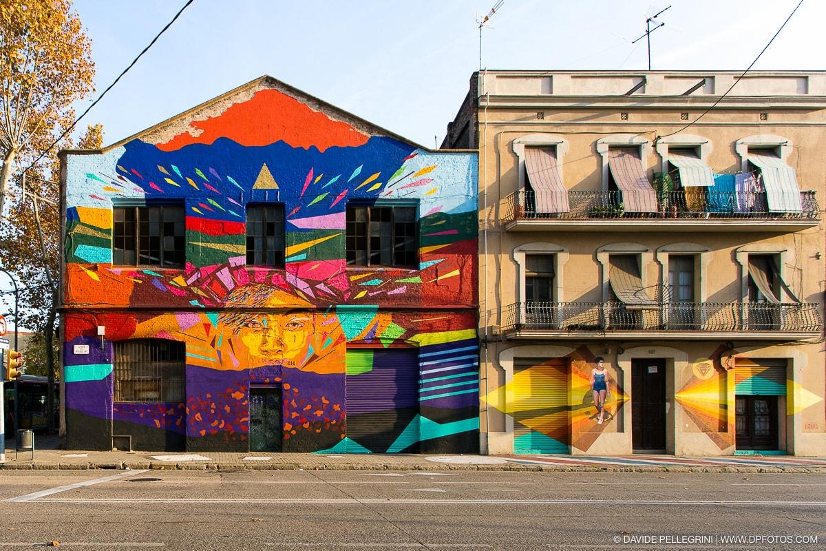 Puro color en el Poblenou  Davide Pellegrini