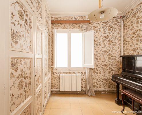 Foto de la habitacíon de una casa en venta en barcelona