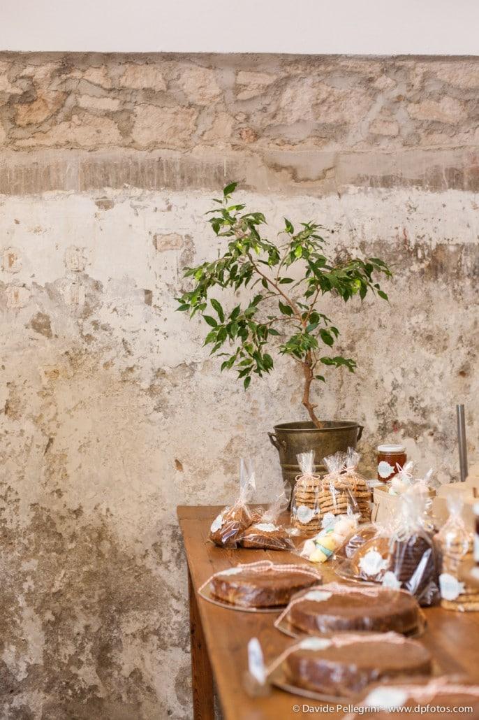 Una mesa de la pastelería Nana Yoti