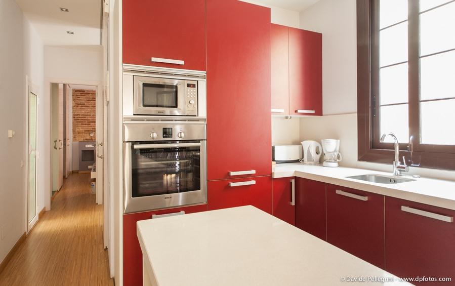 Rojo en Cocina
