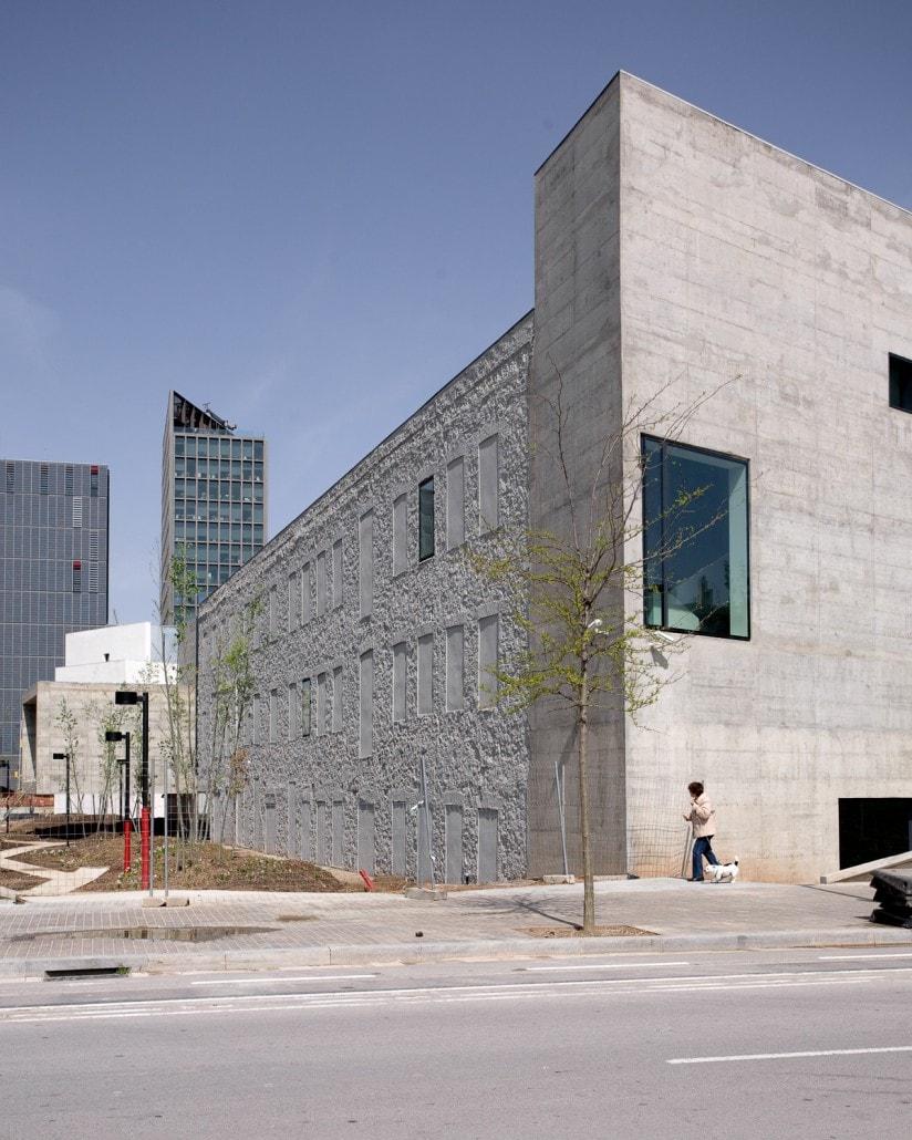 Un lado del edificio