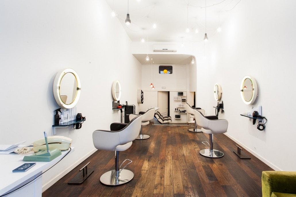 Fotografía de la peluquería Rulo en Barcelona