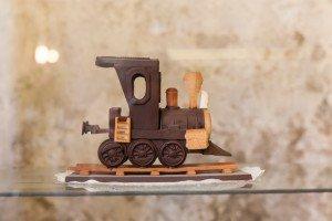 Un tren de chocolata
