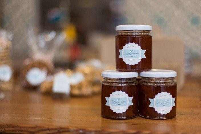 Miel en la pastelería nana yoti