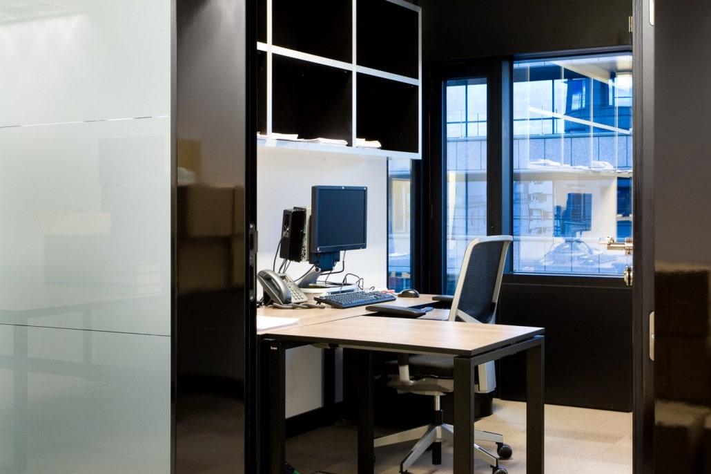 Fotografía de un despacho