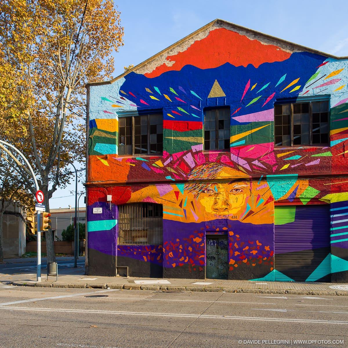 Fachada color murales