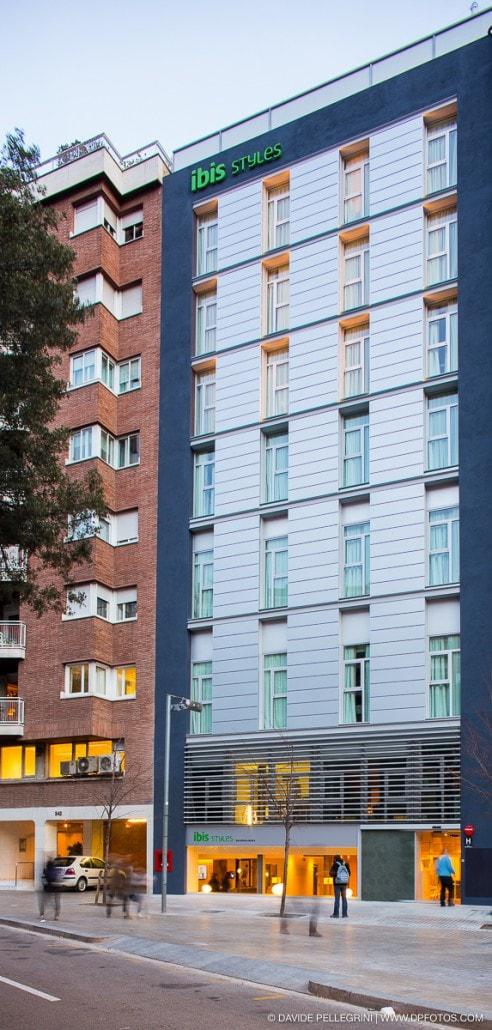 Foto de la fachada del hotel