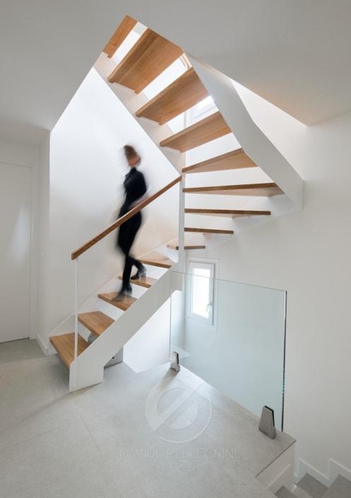 Fotografía de la escalera