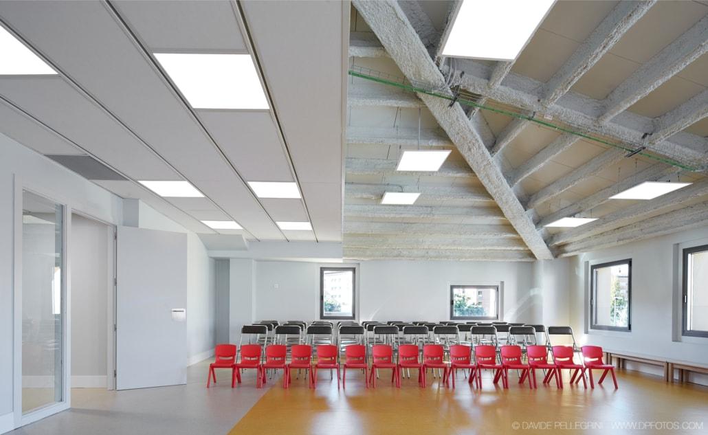 Foto de la sala de conferencias