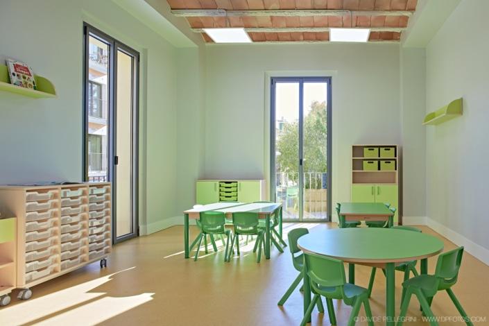 Foto de un aula